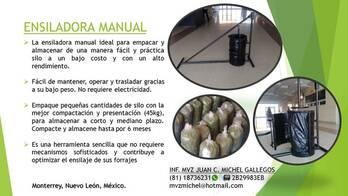 ENSILADORA MANUAL
