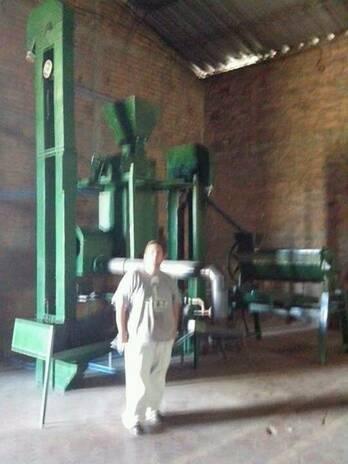 Molino Trillador de Arroz Paddy