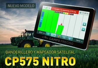 Banderillero y mapeador satelital Campo Preciso CP575 NITRO