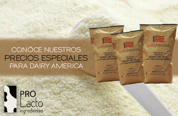 Leche descremada en polvo Dairy America/suero de leche Kraft