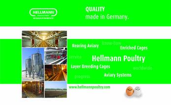 Jaulas Automáticas para cría, recría y postura Hellmann Poultry