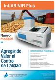 Analizador de Proteina, Grasa, Humedad, Almidon, Fibra