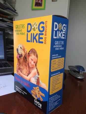 Galletas Doglike horneadas 100% naturales