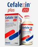CEFALEXIN PLUS 205 100ML (PACK X6) (IVA INCL.)