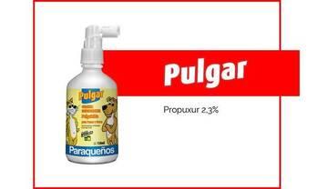 PULGAR - PULGUICIDA y COLONIA EN SPRAY X150ml