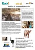 Sensores Ambientales para Cerdos en Confinamiento