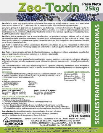 Zeo-Toxin Secuestrante de Micotoxinas