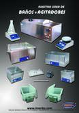 Agitadores magneticos con y sin calefaccion y baños maria de acero inox y de plastico