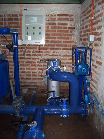 Desinfección de aguas sin químicos, para riego, procesos industriales.