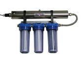 Equipos para desinfección de aguas por luz ultravioleta