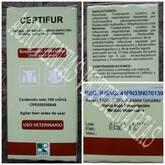 CEFTIFUR (Clorhidrato de ceftiofur 50mg)