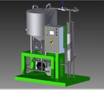 Planta de producción de biocombustibles.
