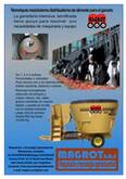 Mixer distribuidor de alimento para el ganado desde 800 Kg hasta 14.000 Kg