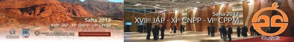 VI Congreso de Producción Porcina del Mercosur, XI Congreso Nacional de Producción Porcina (XI CNPP), XVII Jornadas de Actualización Porcina (XVII JAP)