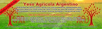 YESO AGRICOLA - DIATOMEA INSECTICIDA - TRATAMIENTO DE RESIDUOS