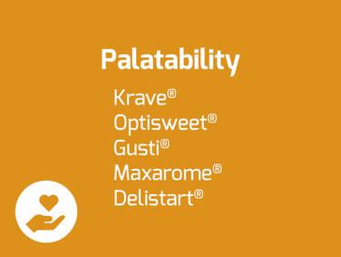 Palatability