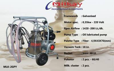 Milkay Milking Machine