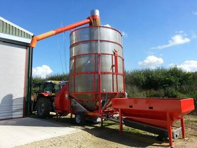 MOBILE DRYER / MOBILE MAIZE DRYER