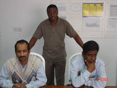 BROILER SITE MANAGER WITH INCHARGES GOLAN MAULA AND SALEEM MUFTUN
