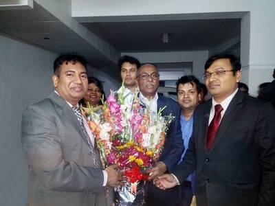 Livestock minister @Bangladesh