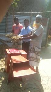 Vaue addition to rice straw for dairy production in Bangladesh