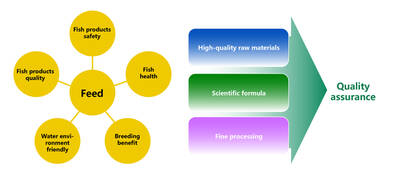 Make good aquatic extruded feed to seize the market opportunity