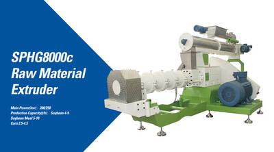 ZHENG CHANG SPHG8000C raw material extruder won a municipalprize