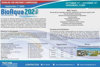 BioAqua2020. Ciencia de alto impacto en la playa más bella del Caribe/BioAqua2020. High impact science on the most beautiful beach in the Caribbean.