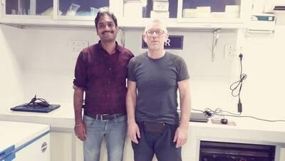 Dr Vishnu Kiran Manam & Dr Viktor