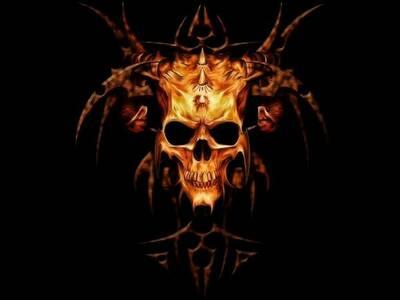 skull curse