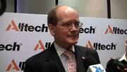 Alltech´s Latin American Lecture Tour. Interview to Dr. Pearse Lyons (President of Alltech)