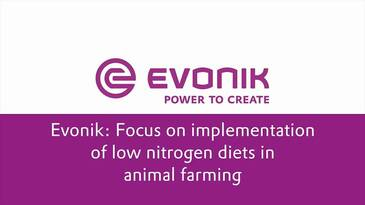 Focus on implementation of low nitrogen diets in animal farming