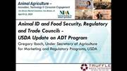 USDA Update on Animal Disease Traceability Program