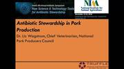 Antibiotic Stewardship in Pork Production