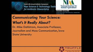 Communicating Your Science - What's It Really About?