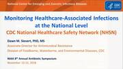 Monitoring Healthcare - Associated Infections at the National Level