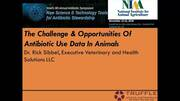 The Challenge Opportunities of Antibiotic Use Data in Animals
