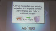 Can we manipulate pre weaning experience to improve lifetime performance and reduce antibiotic usage?