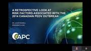 Canada PEDV Video Overview with Dr. Louis Russell