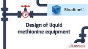 Design of liquid methionine equipment