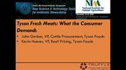 Beef: What the Consumer Demands