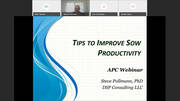 What the Sow is Telling Us, Tips to Improve Sow Productivity, Dr. Steve Pollmann & Dr. Joe Crenshaw