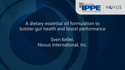 A Dietary Essential Oil Formulation to Bolster Gut Health and Boost Performance