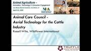 Aerial Technology Cattle Industry