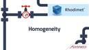 Homogeneity of additives in the feed