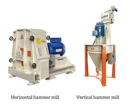 Horizontal vs Vertical Hammer mill