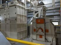 Hammer mill's aspiration filter