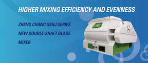 [NEW PRODUCT] ZHENG CHANG Double-shaft Blade Mixer