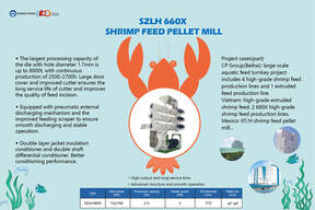ZHENG CHANG PRODUCT| SZLH 660X Shrimp Feed Pellet Mill
