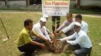 Tree plantation on world veterinary day-14